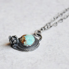 Load image into Gallery viewer, Turquoise Succulent Pendant No. 2