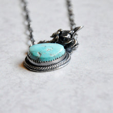 Load image into Gallery viewer, Turquoise Succulent Pendant No. 4