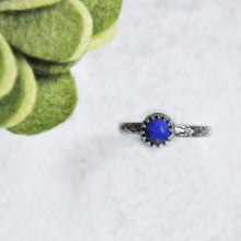 Load image into Gallery viewer, Lapis Lazuli Stackable Ring