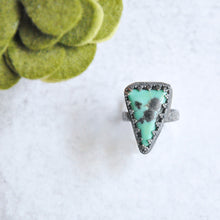 Load image into Gallery viewer, Triangle Turquoise Ring  No. 1 • Size 6.25 US