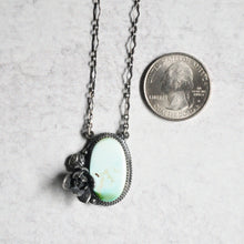 Load image into Gallery viewer, Turquoise Succulent Pendant No. 3