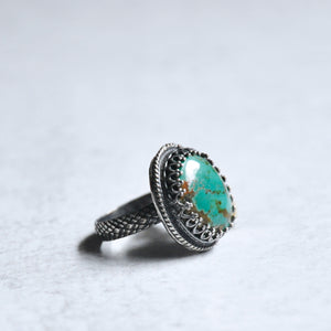 Turquoise Ring  No. 3 • Size 8.25 US