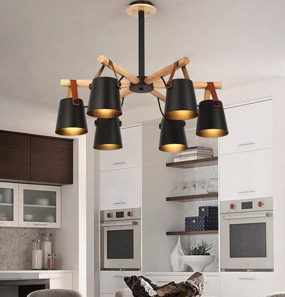 Modern Nordic Drop Down Pendant Chandelier