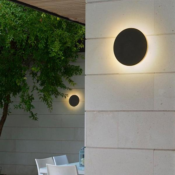 Enid - Modern Disc Light Reflect Lamp