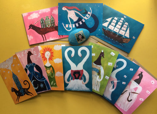 Greeting Cards • SET OF TEN•