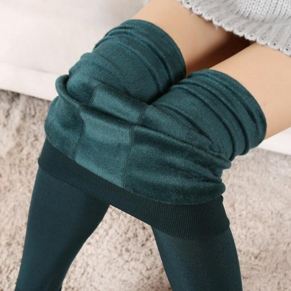 YRRETY Trend Knitting HOT SALE 2019 Casual Winter New High Elastic Thicken Lady's Leggings Warm Pants Skinny Pants For Women