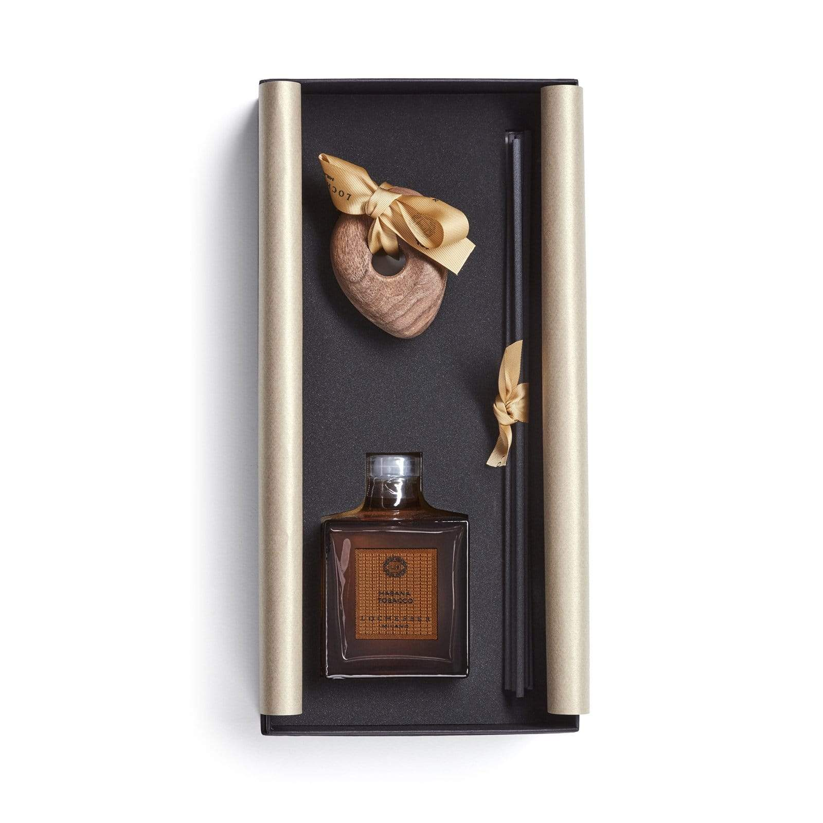 Locherber Milano Home Fragrance 250ml Habana Tobacco Diffuser Sculpted Lid Limited Edition