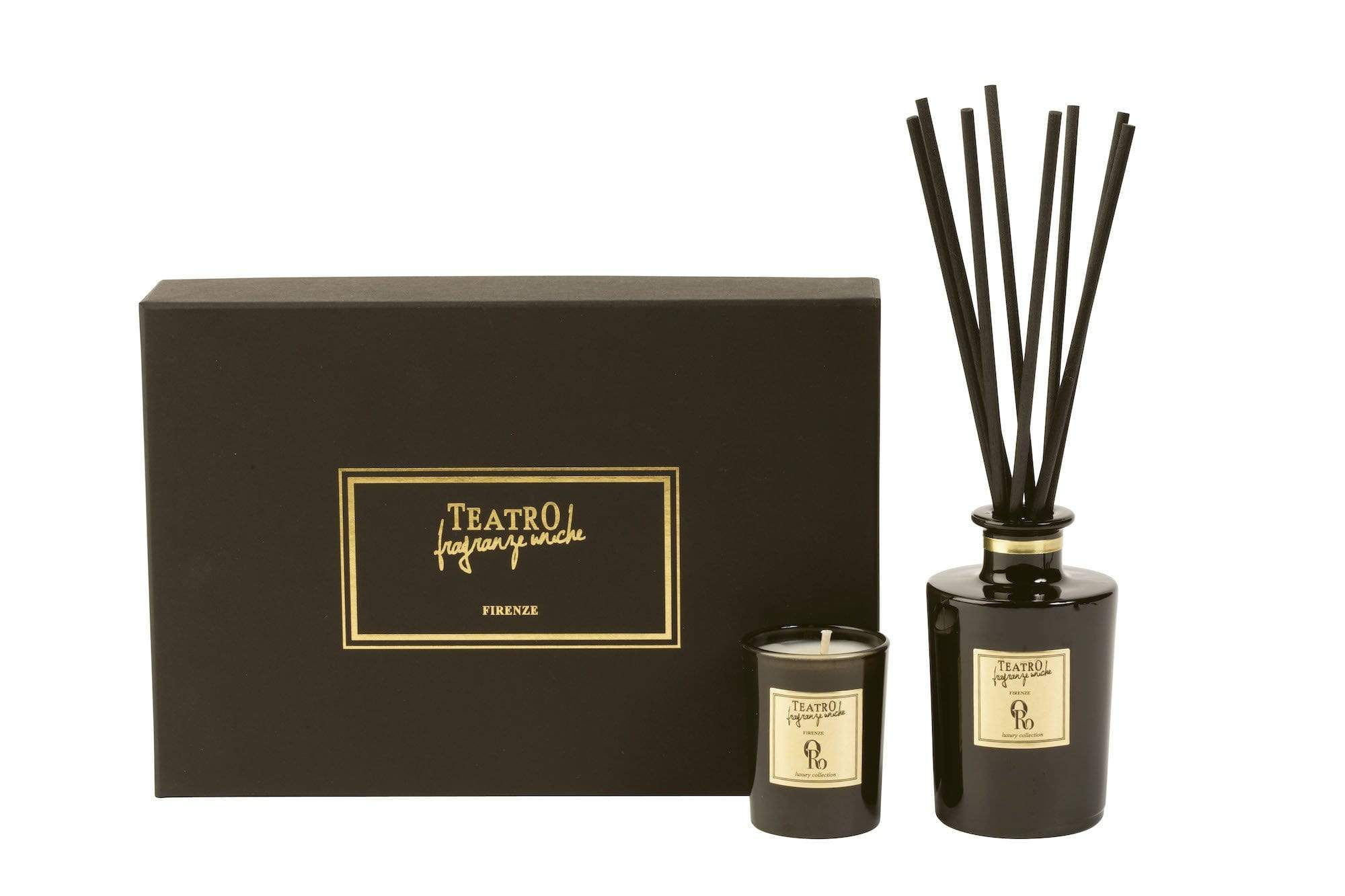 Oro Gift Box Diffuser & Candle (2 Sizes)