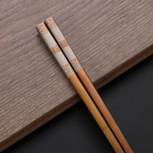 Designer Stainless Steel Chopsticks (1-Pair)