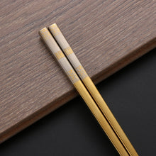 Load image into Gallery viewer, Designer Stainless Steel Chopsticks (1-Pair)