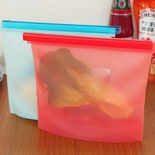 Load image into Gallery viewer, Reusable Silicone Food Storage Bags