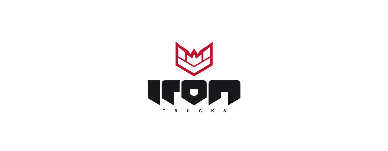 Iron trucks skateboard