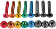 "Enjoi hardware colorful little buddies 7/8"" phillips"