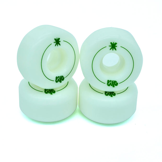 Life Skate Farm 53mm 101A Green Ruedas Skate