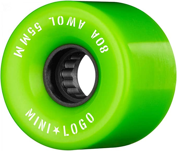 Mini Logo A.W.O.L. 59mm Green 80A