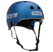 Pro Tec Casco Old School Matte Metallic Blue