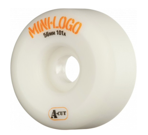 Mini Logo A-Cut 58mm White 101A