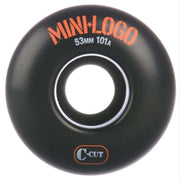 Mini Logo C-Cut 53mm Black 101A