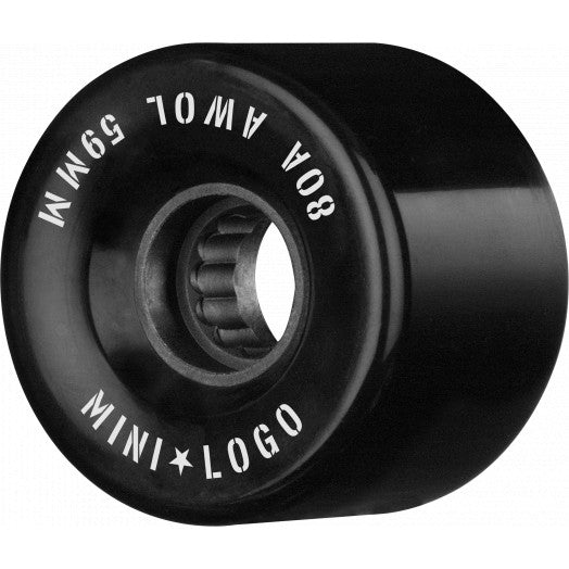 Mini Logo A.W.O.L. 59mm Black 80A