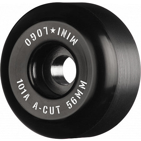 Mini Logo A-Cut 56mm Black 101A