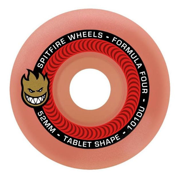 Spitfire F4 99A Tablet Aurora Red 52mm Ruedas Skate