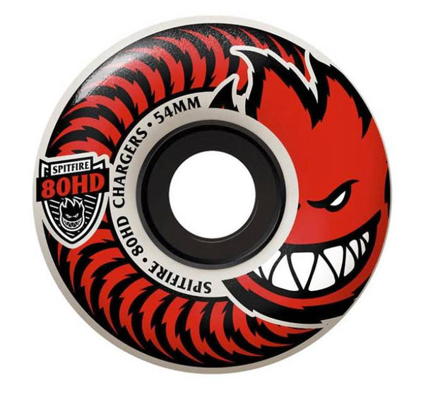 Spitfire Wheels 80HD Chargers Classic Clear 56mm
