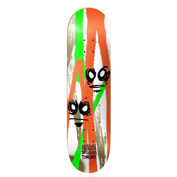 "Heroin Tom Day Call Of The Wild 8.5"" Tabla de Skate"