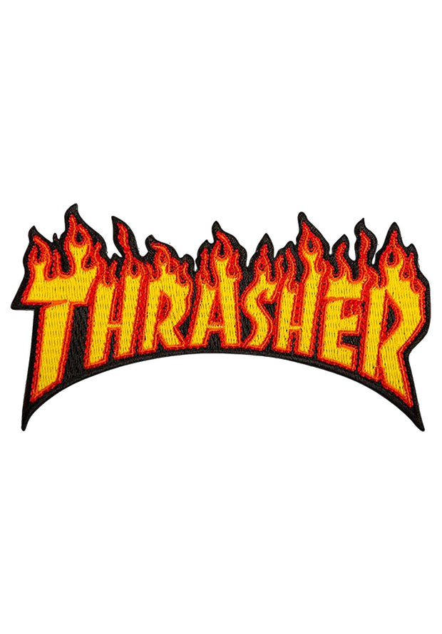 Thrasher Flame Logo Parche