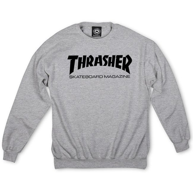 Sudadera Thrasher Skate Mag Heather Gray