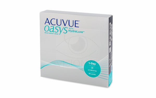 Acuvue Oasys 1-Day HydraLuxe (90 linser) på Abonnement