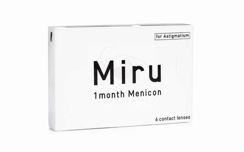 Miru 1 Month Menicon for Astigmatism