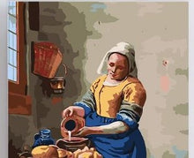 Load image into Gallery viewer, A House Women - Paint by Numbers