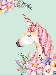 Colorful Unicorn Painting- Paint by Numbers Kit