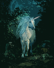 Load image into Gallery viewer, A White Unicorn Painting Kit