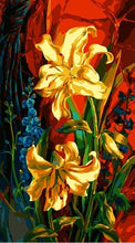 Load image into Gallery viewer, Abstract Flowers Painting kit