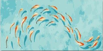 Gold Fishes - Paint by Numbers