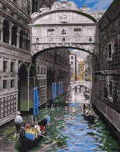 Load image into Gallery viewer, Water Alleys - Paint by Numbers