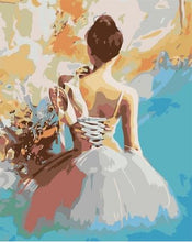 Load image into Gallery viewer, Ballet Dancer - Abstract Paint by Numbers