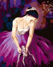 Load image into Gallery viewer, Ballet Girl Sitting - Painting Kit