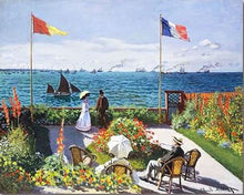 Load image into Gallery viewer, French Seaside Garden - Paint by Numbers