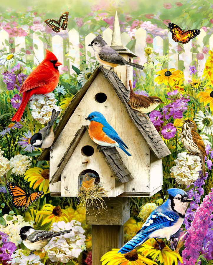 Beautiful Birds Paint By Numbers kit