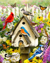Load image into Gallery viewer, Beautiful Birds Paint By Numbers kit