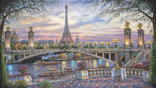 Load image into Gallery viewer, Eiffel tower paint by number