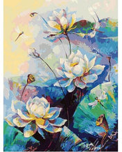 Load image into Gallery viewer, Beautiful Flowers For Home Decor - Paint by Numbers Kit