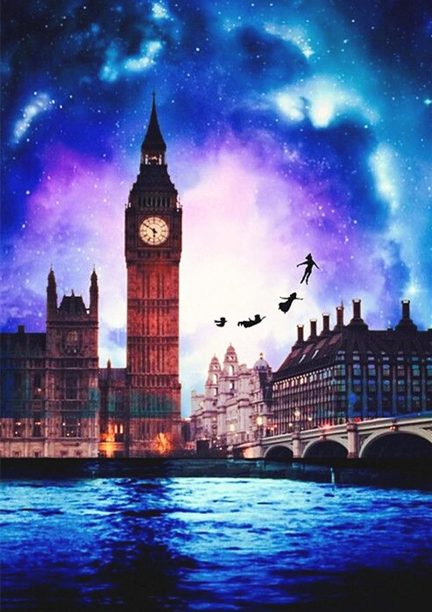 Big Ben Fantasy painting by number kit