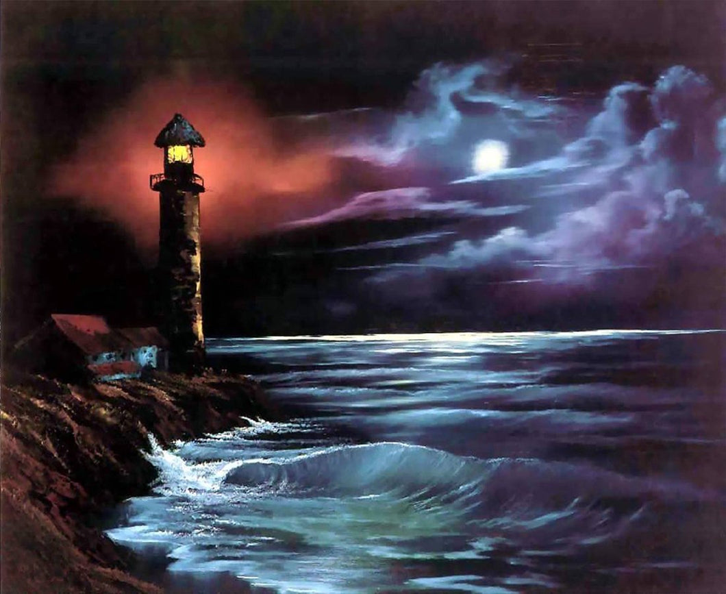 Light House painting by Numbers