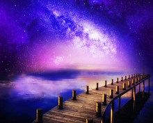 Load image into Gallery viewer, Bridge At Night Beautiful Painting Kit