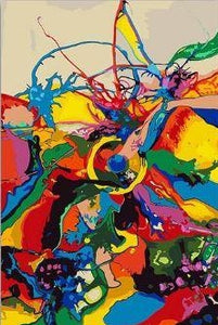 Colorful Abstract - Paint by Numbers