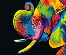 Load image into Gallery viewer, Colorful Elephant Painting Kit