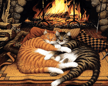 Load image into Gallery viewer, Sleeping Cats